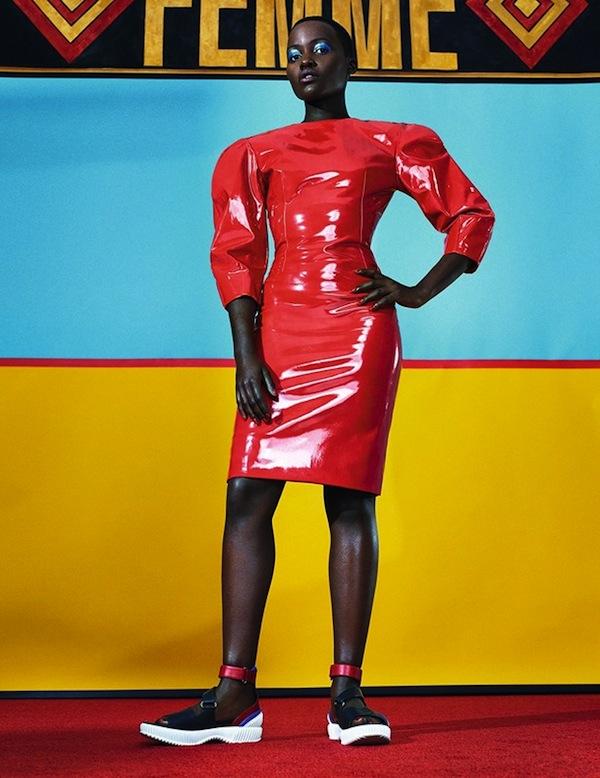 Lupita Nyong'o for Dazed & Confused February 2014-2