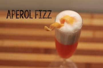 Aperol Fizz Cocktail