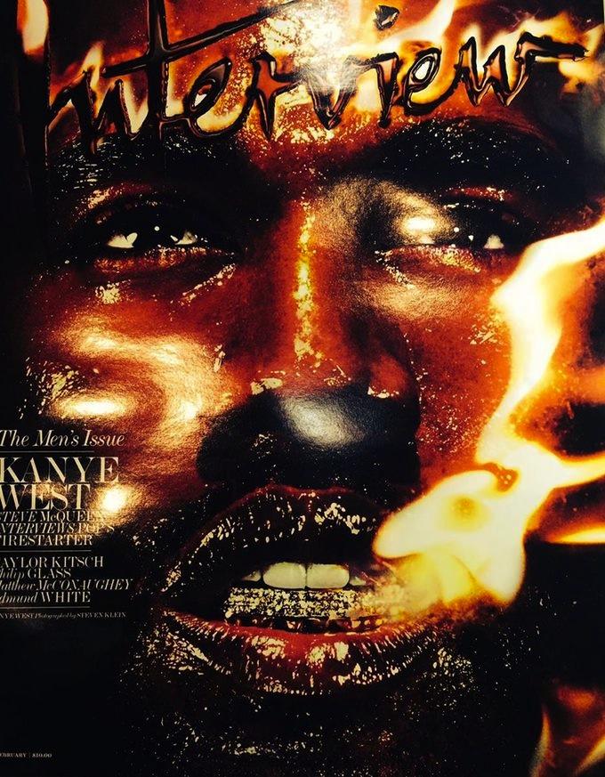 Kanye West Interview Magazine Feb 2014