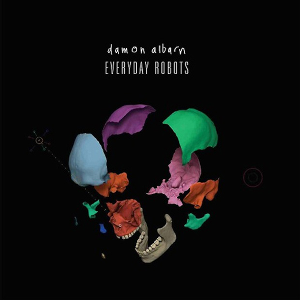 Damon Albarn announces Everyday Robots DVD Cover