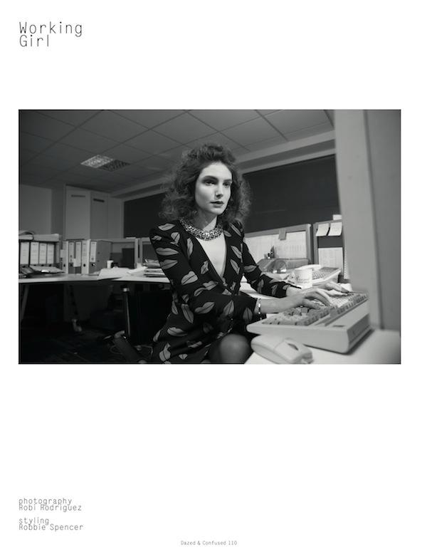 Working Girl Dazed & Confused February 2014-2