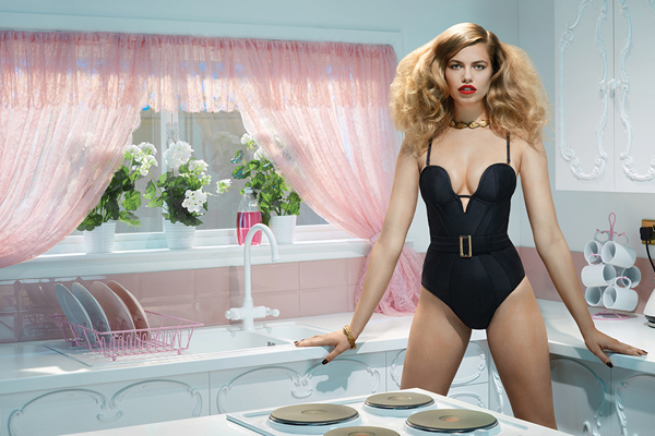 Agent Provocateur Spring Summer 2014 Behind Closed Doors Campaign