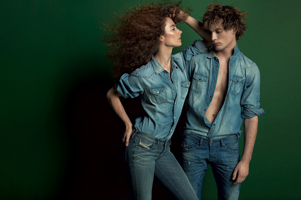 Diesel Spring Summer 2014 WE ARE CONNECTED Campaign