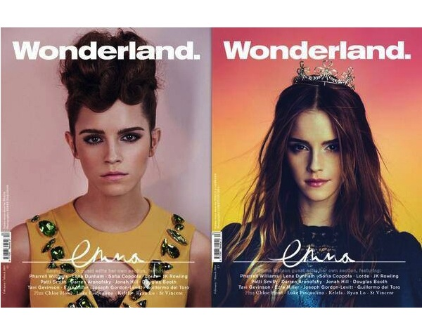 Emma Watson for Wonderland Magazine February:March 2014