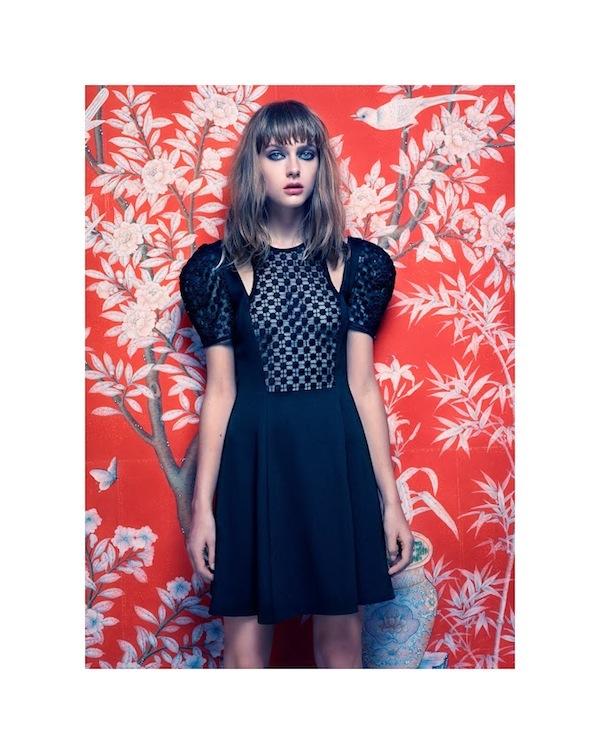 Gracie Van Gastel for Jill Stuart Spring Summer 2014-3