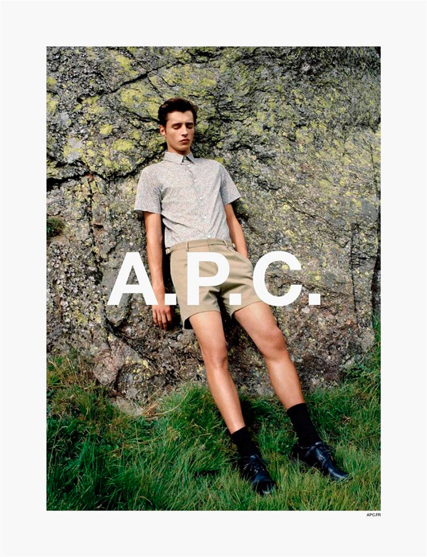 A.P.C. Spring Summer 2014 Campaign