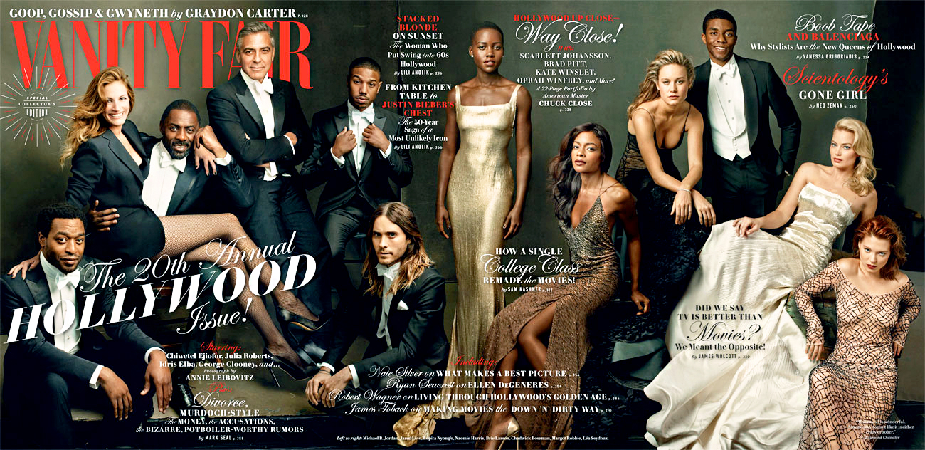 Vanity Fair 'Hollywood Issue' March 2014
