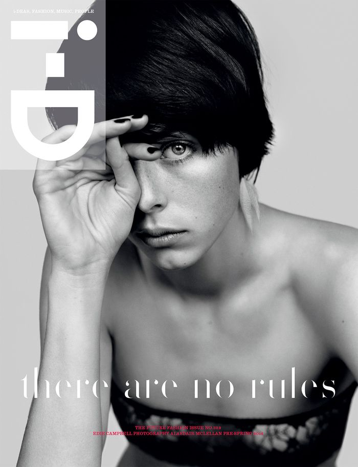 Edie Campbell for i-D Pre-Spring 2014