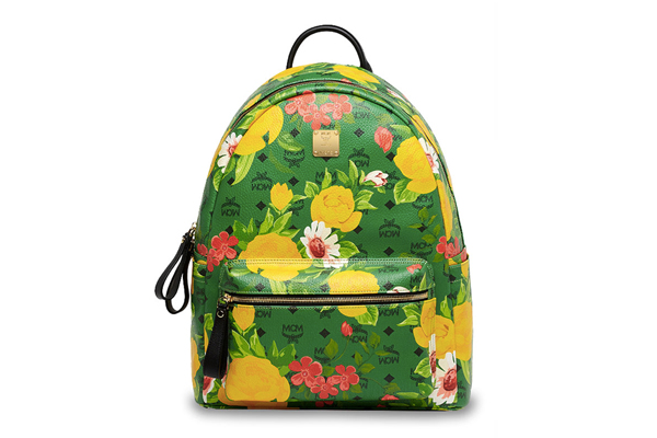 MCM Paradiso Spring Summer 2014 Collection Green Backpack