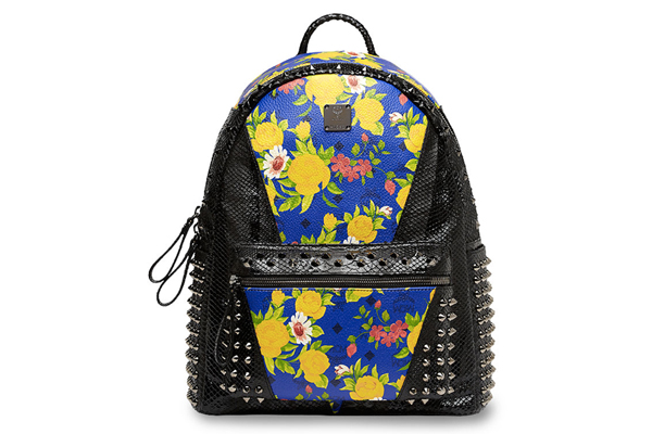 MCM Paradiso Spring Summer 2014 Collection spiked Backpack