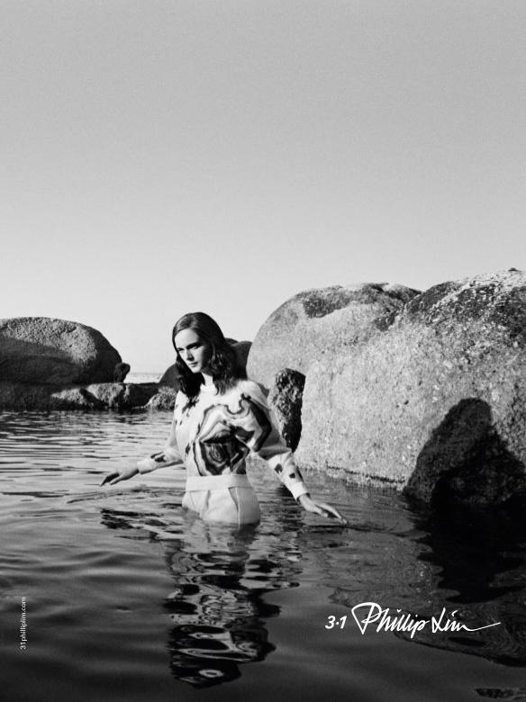 Anna de Rijk for 3.1 Phillip Lim Spring Summer 2014-2