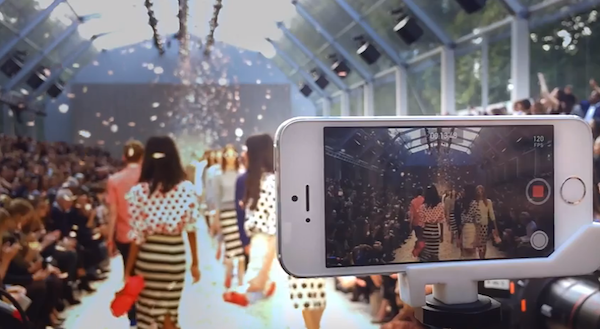 Apple iPhone 5s Burberry Spring SUmmer 2014