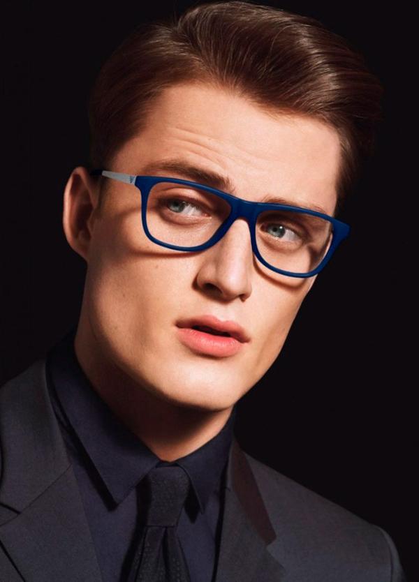Emporio Armani Spring Summer 2014 Eyewear Campaign