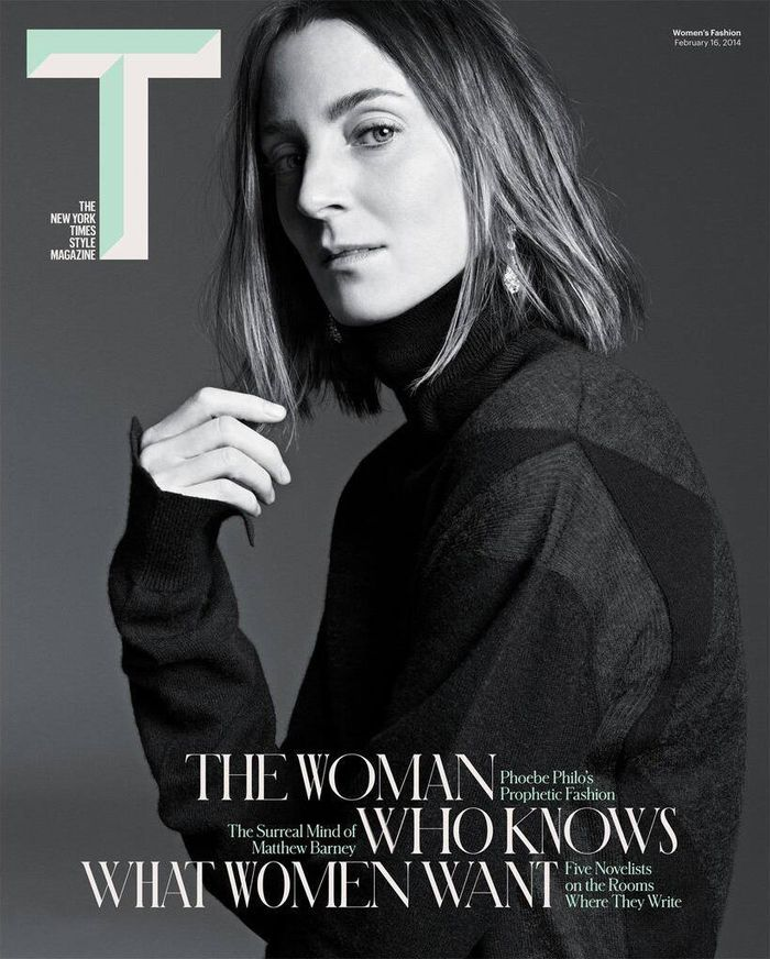 Phoebe Philo for NY Times T Style Magazine Spring 2014