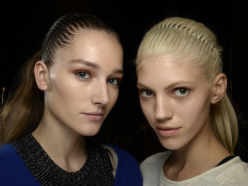 NYFW Beauty Report NARS for Helmut Lang Fall 2014