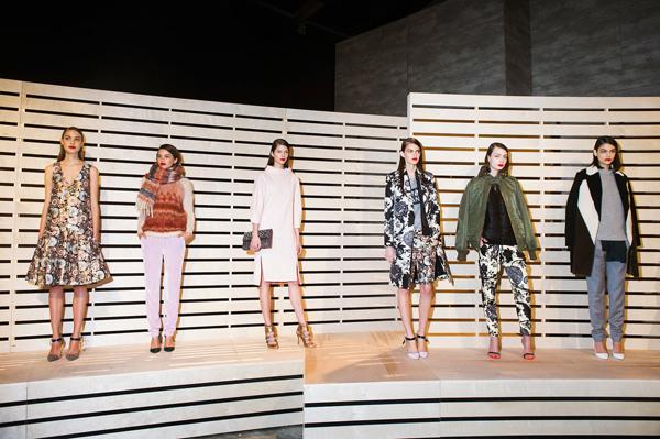 New York Fashion Week J.Crew Fall 2014