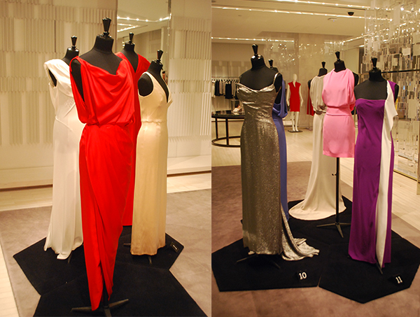 the house of balenciaga preview at holt renfrew sidewalk