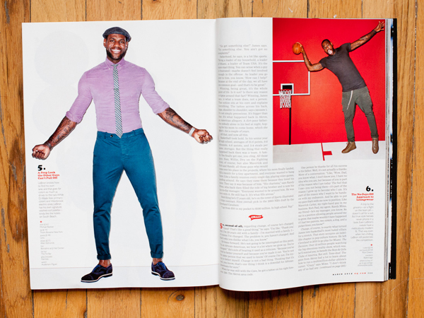 LeBron James photographed by Terry Richardson