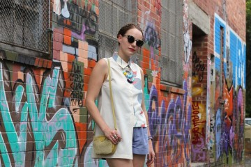 What I Wore Laneways  Collingwood Melbourne