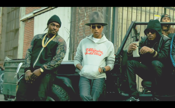 Future Move That Dope Featuring Pusha T Pharrell Music Video