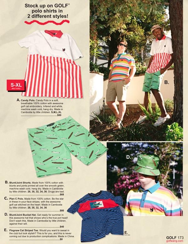 45c8684941f5 Golf Wang Spring Summer 2014 Lookbook