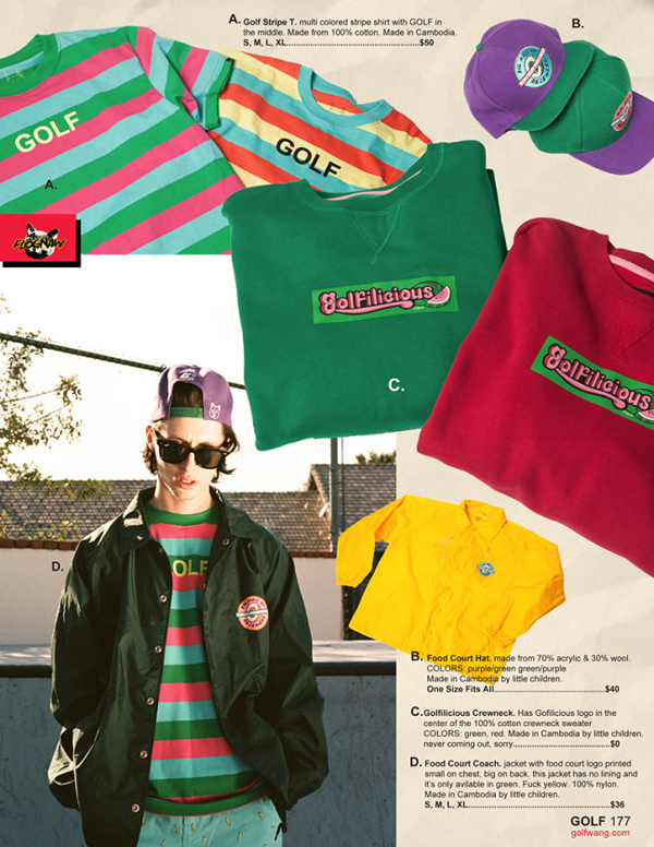 Golf Wang Spring Summer 2014 Lookbook