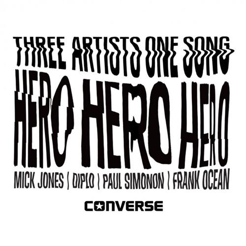 Frank Ocean Mick Jones Paul Simonon Diplo Hero