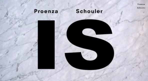 Proenza Schouler Is by HARRYS