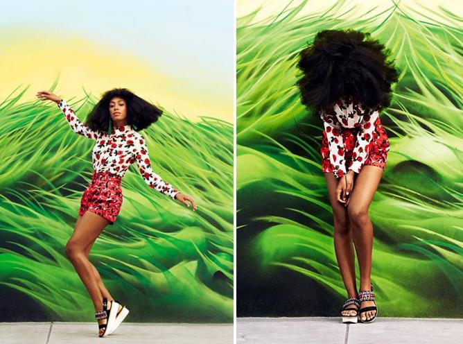 Solange Knowles for Harper's Bazaar March 2014-2