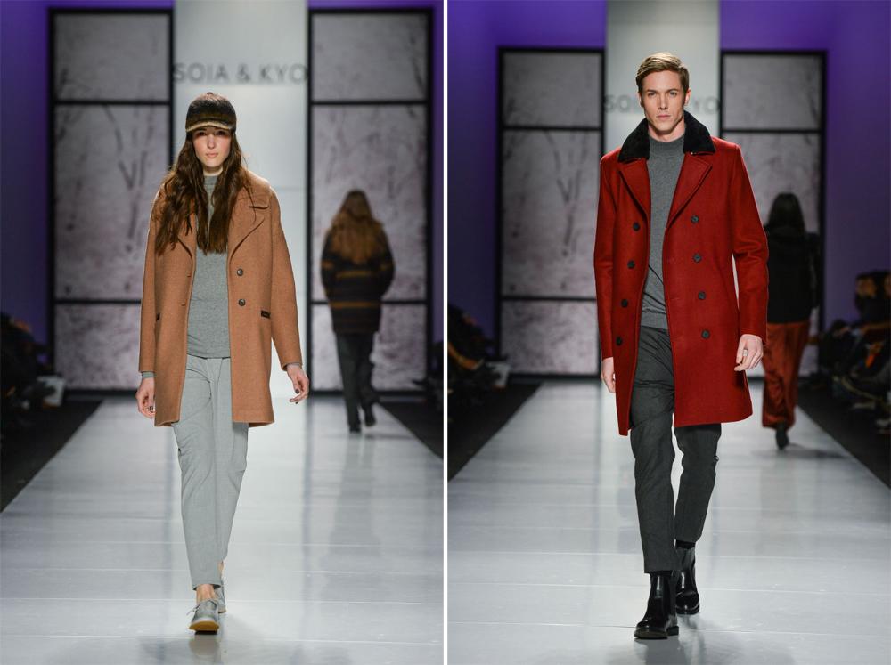Soia & Kyo Fall Winter 2014 at Toronto Fashion Week