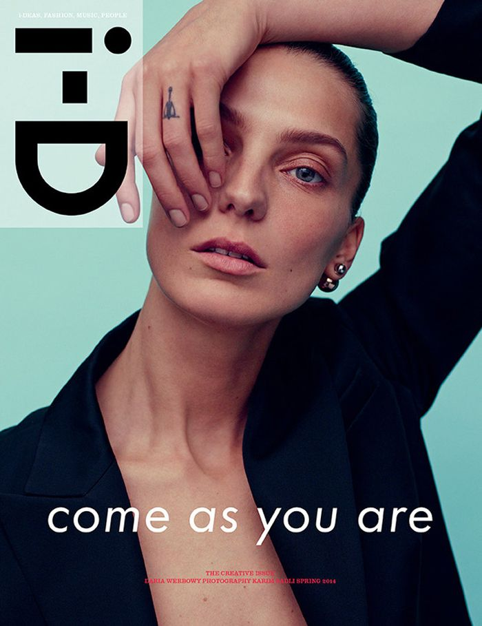 Daria Werbowy by Karim Sadli for i-D Spring 2014