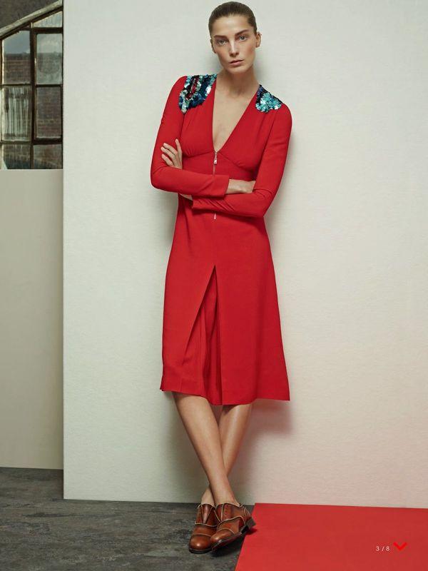 Daria Werbowy 2014 Daria Werbowy us Vogue April