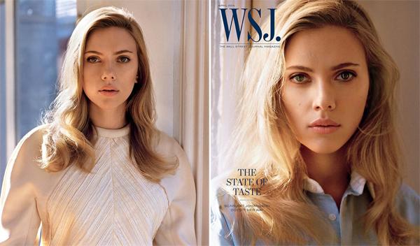 Scarlett Johansson for WSJ Magazine April 2014