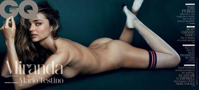 Miranda Kerr for GQ UK May 2014