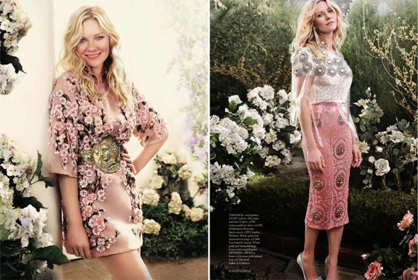 Kirsten Dunst for Harper's Bazaar UK May 2014-2