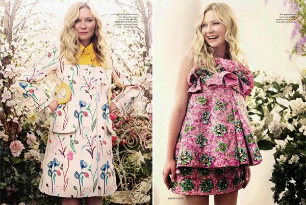 Kirsten Dunst for Harper's Bazaar UK May 2014-3