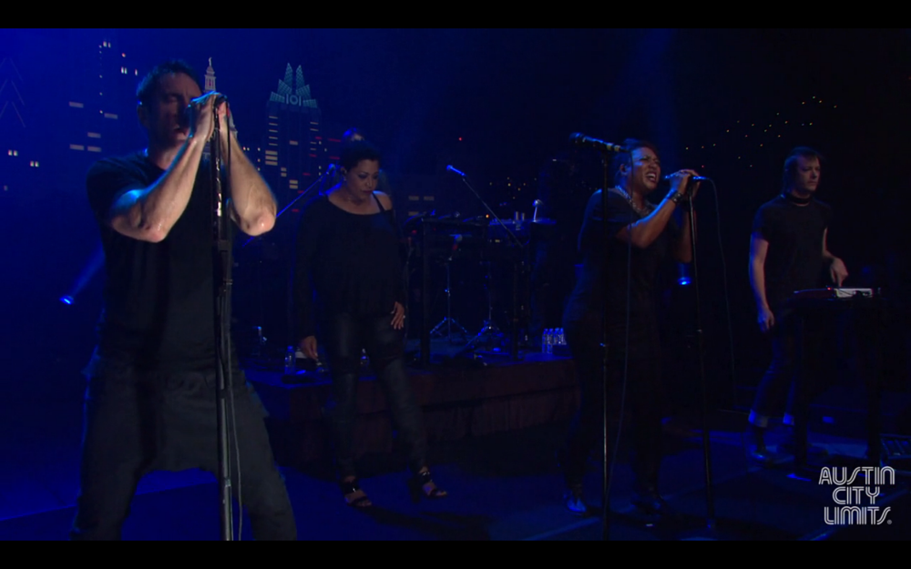 Nine Inch Nails perform Sanctified on Austin City Limits