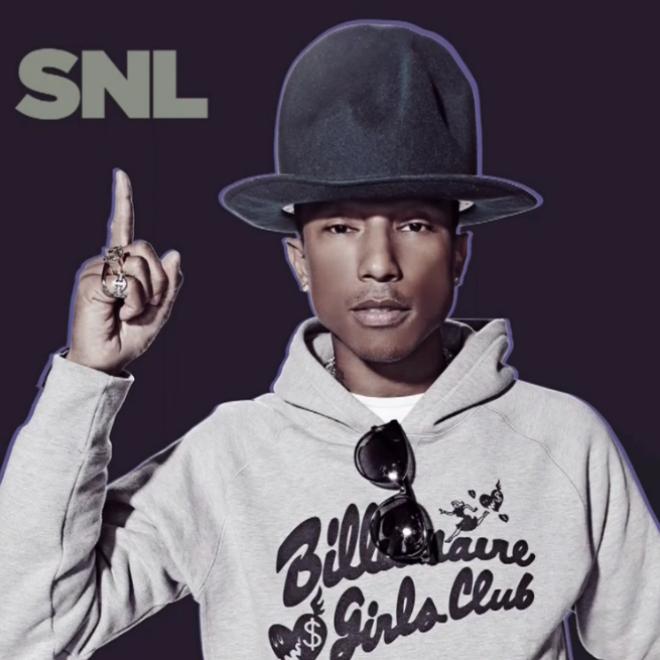 pharrel SNL