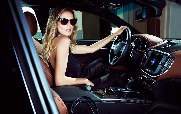 Heidi Klum for Maserati 2014-4
