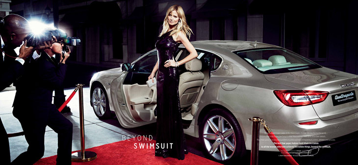 Heidi Klum for Maserati 2014-5