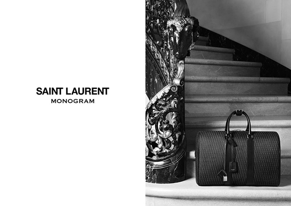 Saint Laurent Monogram Campaign