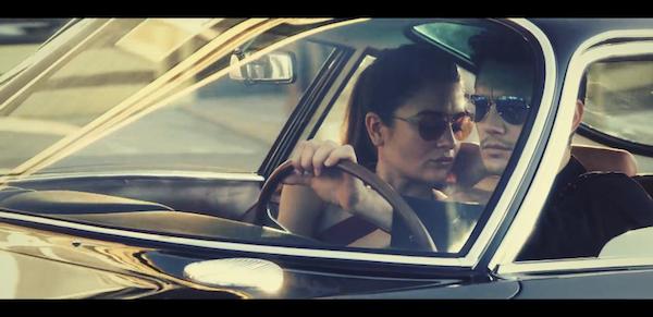 James Franco for Gucci Techno Color Sunglasses