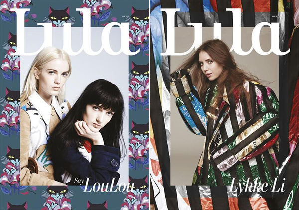 Say Lou Lou, Lykke Li, & Langley Fox for Lula Magazine SS 2014