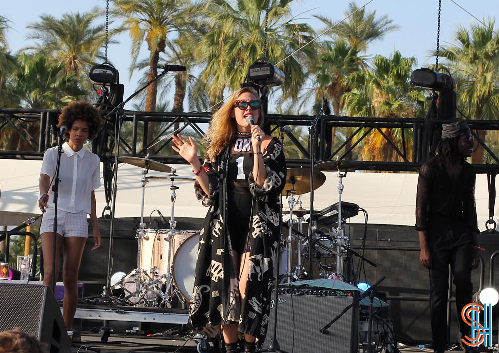 Samantha Urbani Blood Orange Coachella 2014 - weekend 2