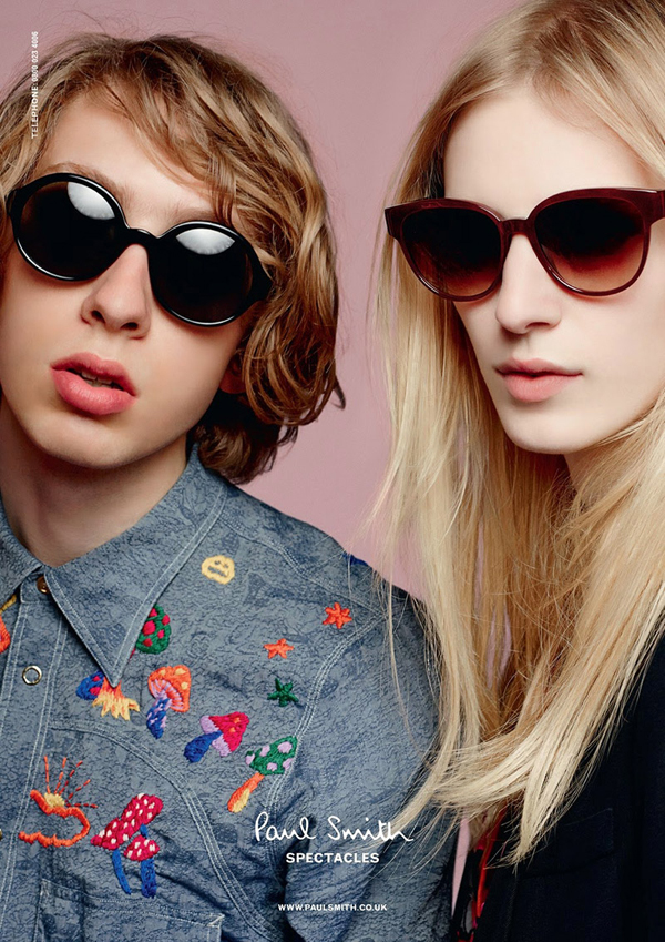 Paul Smith Spring Summer 2014 Spectacles Campaign