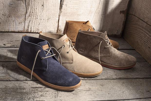 Timberland Men's Woodcliff Leather Chukkas