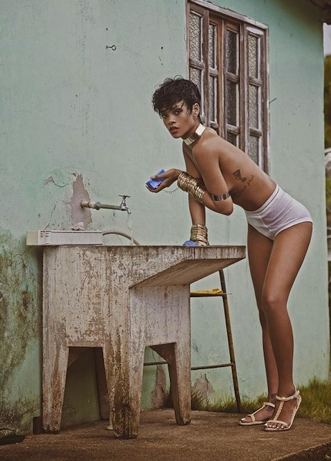 Rihanna for Vogue Brazil May 2014-4