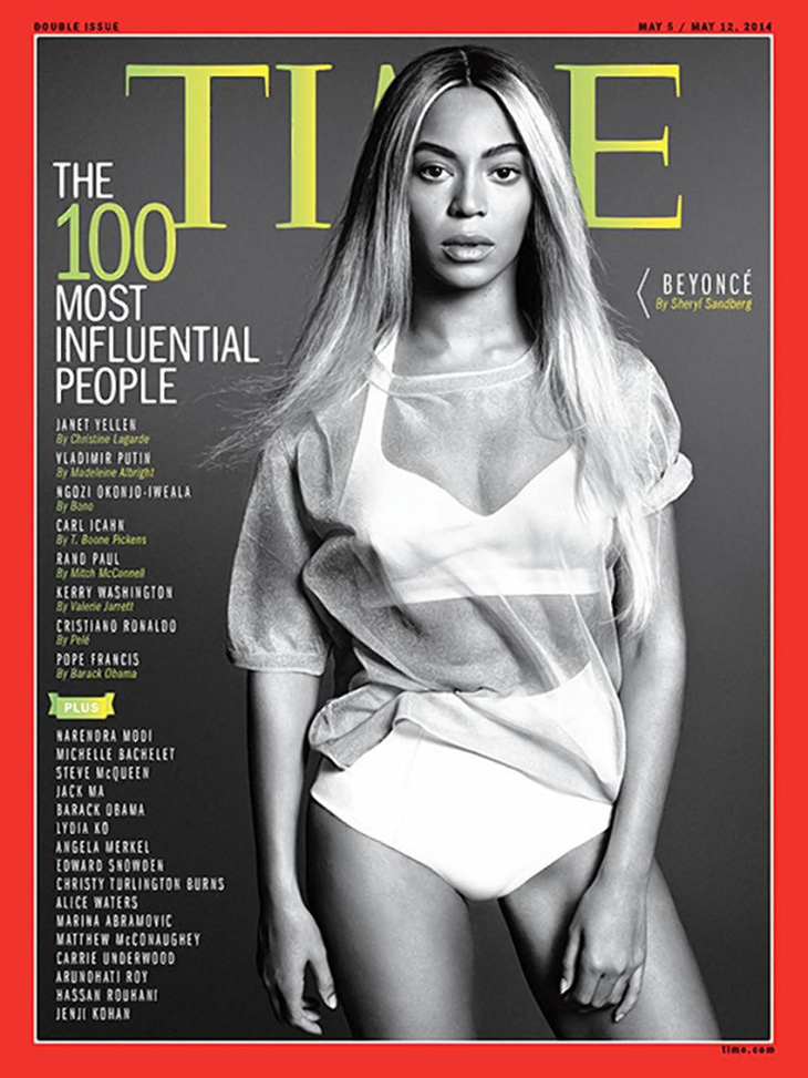 Beyonce for TIME Magazine May 2014