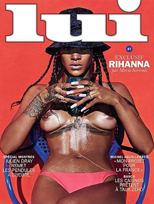 Rihanna Poses Nude for Lui Magazine NSFW