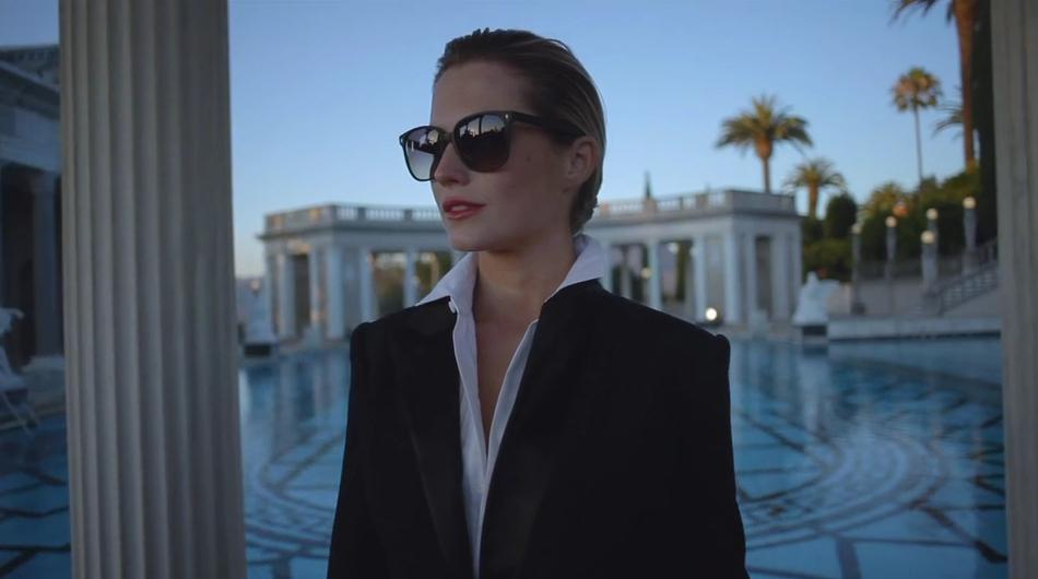 Amanda Randolph Hearst for Oliver Peoples 2014
